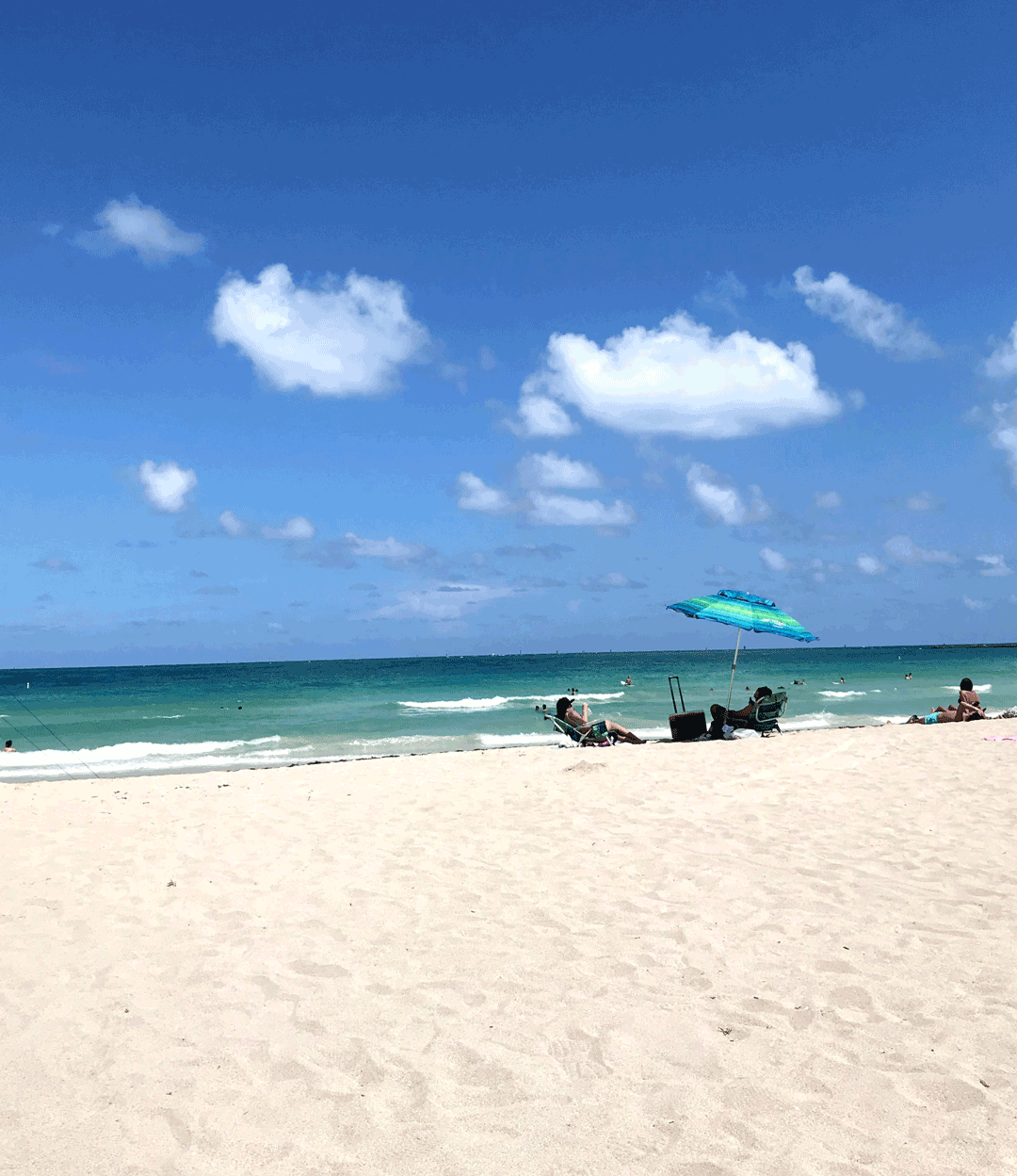 South Beach Miami Florida Relaxation Travel