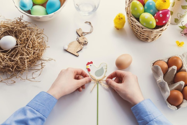 SIMPLE STEPS FOR A SUSTAINABLE EASTER